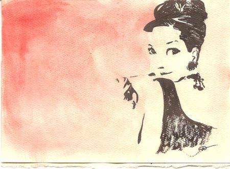 Audrey Hepburn by Joëlle