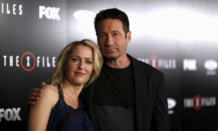 Anderson and Duchovny - image from The Guardian